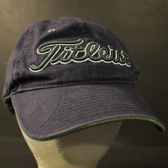 5964a541ce5 Titleist Golf Hat Cap New Era Adjustable Strapback.  M 5bfa196103087cb32795007f